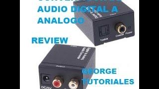 UNBOXING CONVERTIDOR DE AUDIO DIGITAL A ANALOGO MARCA RADOX