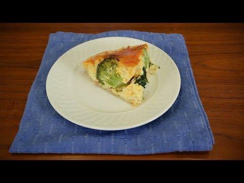 Organic Healthy Life - Broccoli Quiche By Celebrity Chef, Nancy Addison