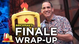 BRICKMAN reflects on Season 2, and his favourite builds! | LEGO Masters Australia | CheepJokes