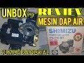 Cara cepat menggulung pompa Air merk SHIMIZU - YouTube