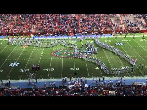 University of Florida Gator Band 2012 Pre-game