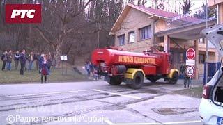 Požar i eksplozije u Remontnom zavodu u Kragujevcu