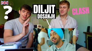 Really?...   DILJIT DOSANJH - CLASH (Official Music Video) G.O.A.T.   GILLTYYY REACT