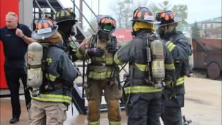 Central Indiana Fire Academy Recruit Class 2016-1 Class Video