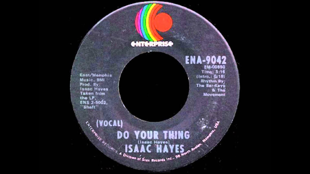 Do Your Thing - Isaac Hayes - YouTube