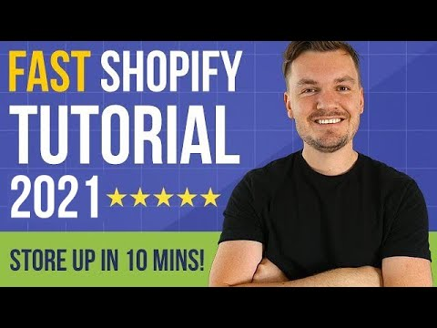 FAST Shopify Tutorial 2020 For Beginners 🔥 How To Set Up A Shopify Store In 10 Minutes! thumbnail