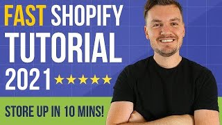 FAST Shopify Tutorial 2020 For Beginners