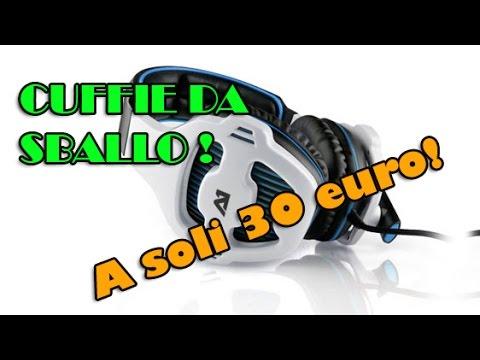 Sades SA903-Attitude ONE Tunguska 7.1 ITA Recensione -Test Microfono ... deb590e5c7a8