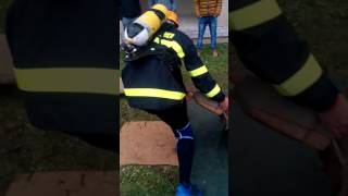 TUZVO Železný hasič 2016 Jakub Borsík - čas: 239,5s