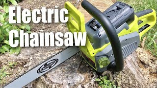 Sun Joe iON16CS-CT 40-Volt Cordless 16-Inch Electric Chain Saw Review