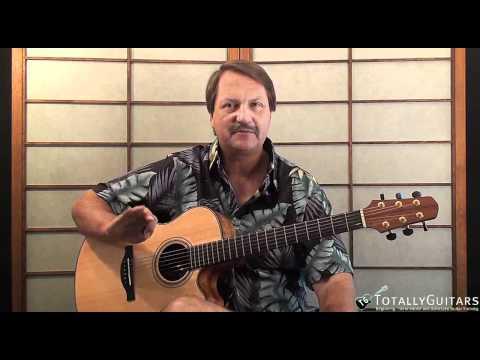 Mrs Robinson Acoustic Guitar Lesson Preview Paul Simon Art