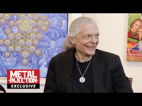 COSM 2: Alex Grey On His Relationship With Tool & Meaning Behind The Album Art| Metal Injection