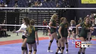 Great Falls CMR sweeps Butte volleyball