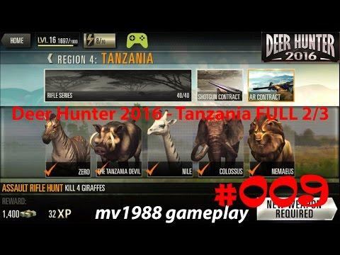 Deer Hunter 2016 - Region 4 Tanzania 2/3 Gameplay Walkthrough HD (part #009)