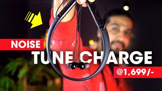 Noise Tune Charge Neckband Review Bluetooth Earphones With Bass Boost Feature!! (Hindi)