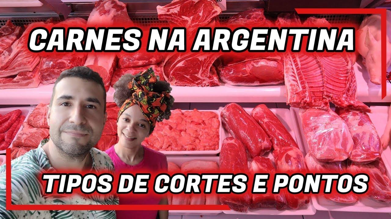 CARNES NA ARGENTINA (TIPOS DE CORTE E PONTOS) - Lisos Poraí