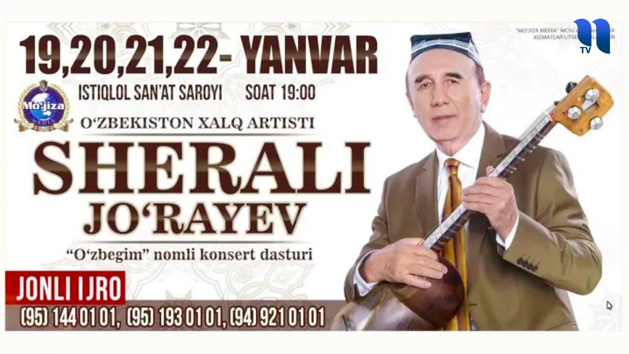 Download Sherali Jo'rayev - O'zbegim nomli konsert dasturi 2018