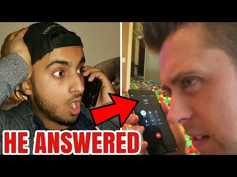 Thumbnail: CALLING ROMANATWOOD!!! (OMG HE ACTUALLY ANSWERED!!!) ROMANATWOOD VLOGS