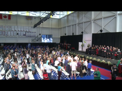 Camosun College Graduation Ceremony June 16th Afternoon