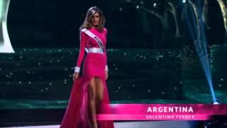 Valentina Ferrer Miss Universe Argentina 2015 Preliminary Competition