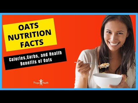 Oats Nutrition Facts: Calories, Carbs, and Health Benefits of Oats