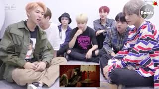 BTS reacts to Becky G!!