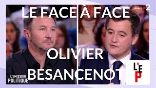 L'Emission politique du 15 mars 2018 - Le face à face avec Olivier Besancenot (France 2)