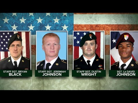 Newly-released video shows U.S. soldiers under attack in Niger