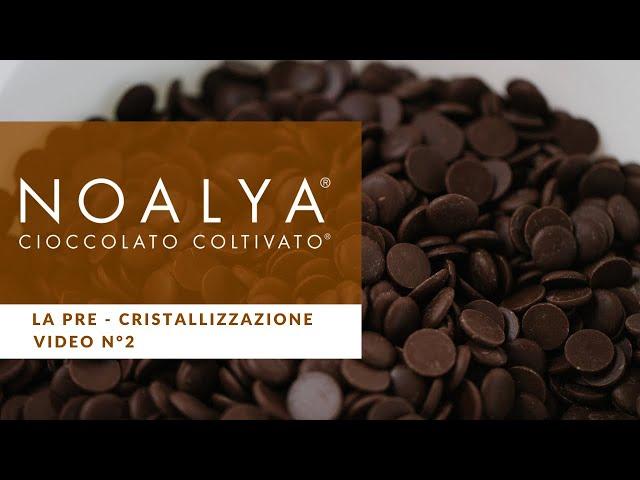 Come temperare il Cioccolato - Video n° 2  Team Noalya - Cioccolato Coltivato