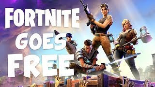 PLAY FORTNITE for FREE!? | Fortnite Battle Royale (PUBG) Survival Mode Goes Free to Play
