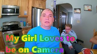 My Girl Loves to be on Camera Trucker Rudi 06/04/18 Vlog#1445