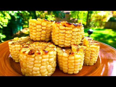 GRILLED CORN ON THE COB COINS RECIPE