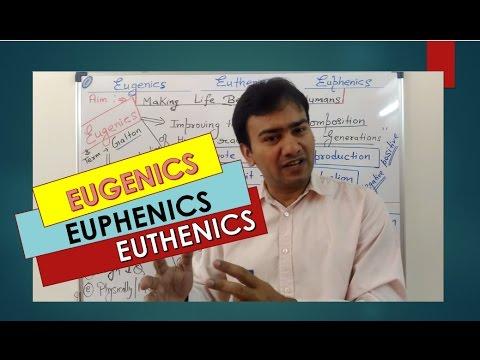 EUGENICS , EUPHENICS & EUTHENICS : CONCEPT for NEET / AIIMS