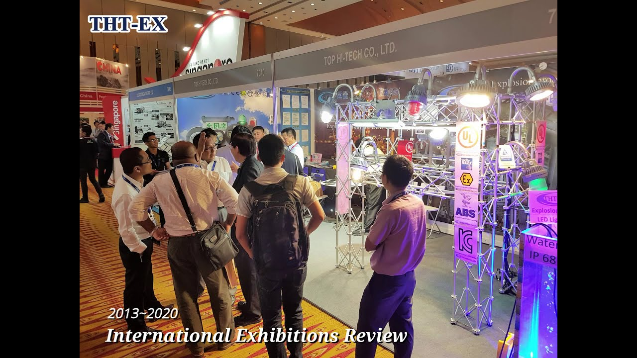 International Exhibitions Review from 2013 to 2020