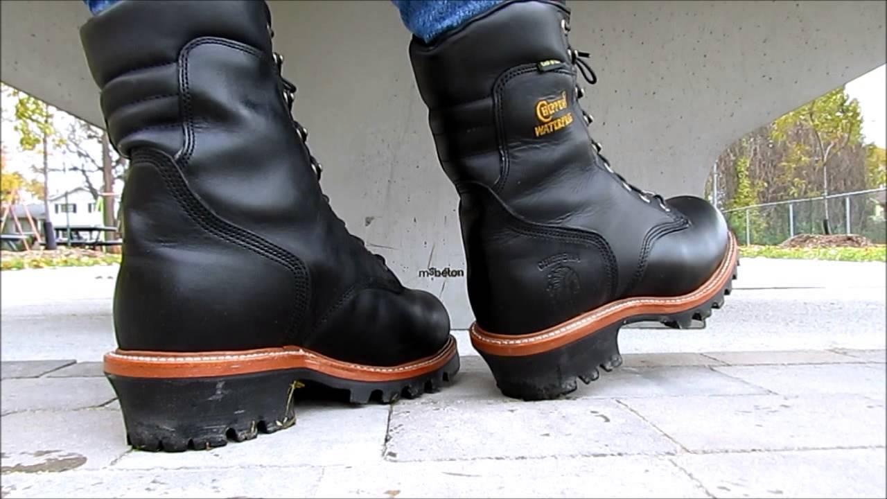 Chippewa Logger 23 Cm Boots Youtube