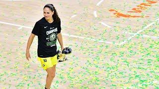 Sue Bird Trophy Presentation & Interview For WNBA Championship (October 6, 2020)