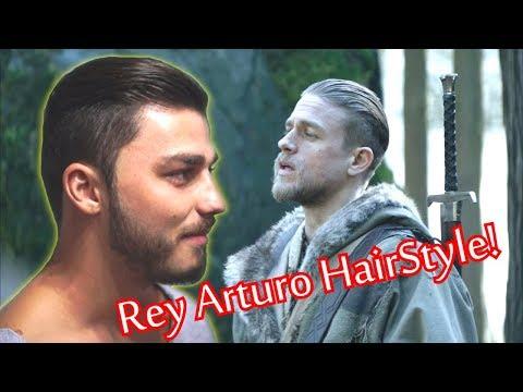 Rey Arturo HairStyle | Charlie Hunnam Haircut & Beard | Barbero Mick