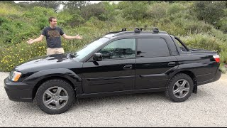 The Subaru Baja Turbo Is a Weird, Fast Subaru Truck