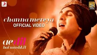 Channa Mereya Full  Song Ringtone From Ae Dil Hai Mushkil