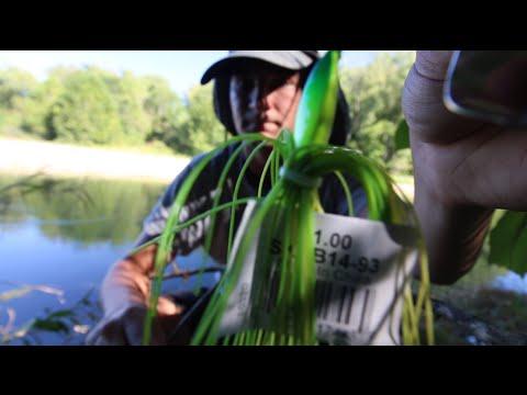 $1 Walmart Fishing Lure Challenge!!