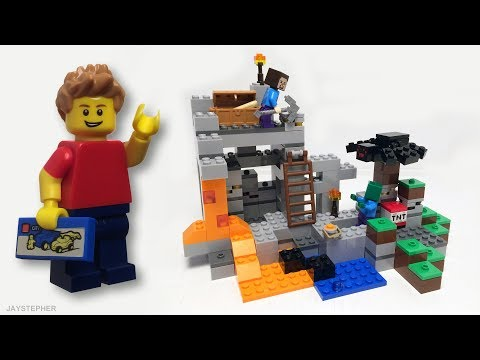 lego-minecraft:-the-cave-21113-exploration