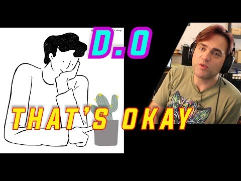Guitarist Reacts To D.O. - That's Okay MV // 디오 - 괜찮아도 괜찮아 // Musician Reaction