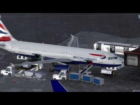 Flight from Stockholm  to London  (BRITISH AIRWAYS)