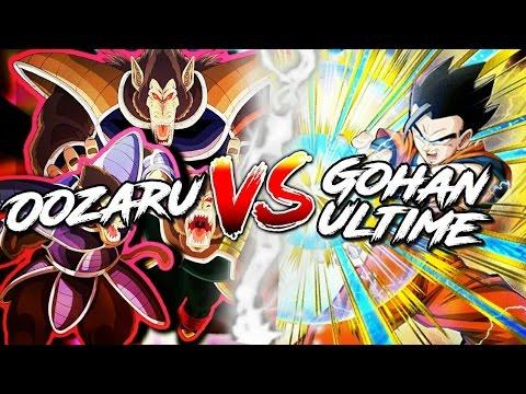 DOKKAN BATTLE : OOZARU VS GOHAN ULTIME !