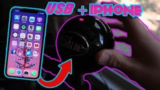 How To Connect a Studio Mic To An iPhone!