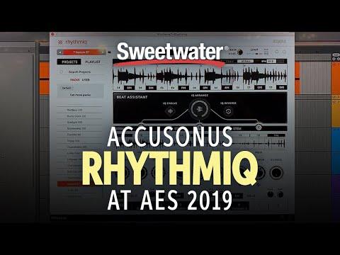 Sweetwater at AES 2019 Accusonus Rhythmiq