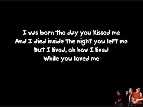 Rascal Flatts - While you loved me Lyric