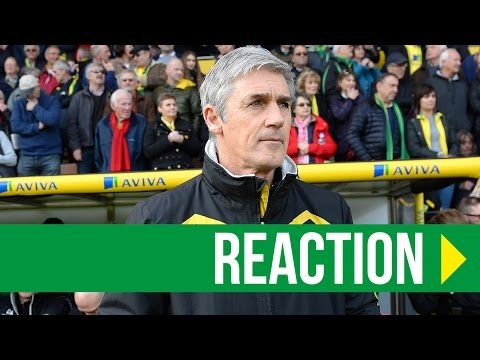 Norwich City 2-2 Blackburn Rovers: Alan Irvine Reaction