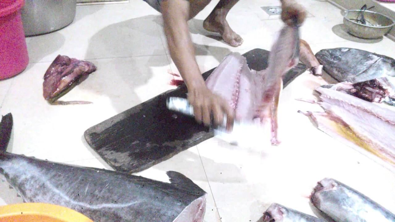Ikan tenggiri fillet - YouTube