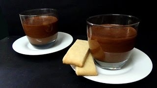 how to make chocolate mousse and orange shortbread